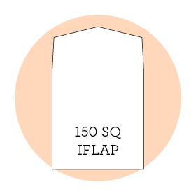 Envelope liner template 150sq iflap