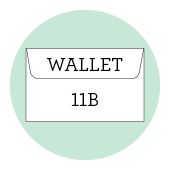 11b wallet envelopes