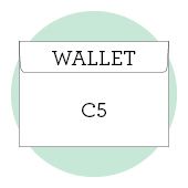 C5 wallet envelopes