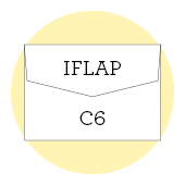C6 iflap envelopes