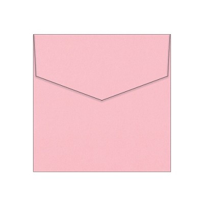 Eco Luxury 130x130 iflap Envelope 120gsm Tickled Pink