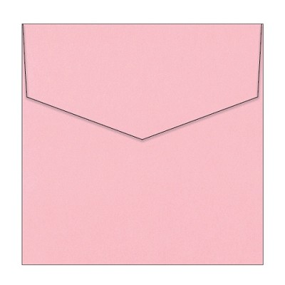 Eco Luxury 150x150 iflap Envelope 120gsm Tickled Pink