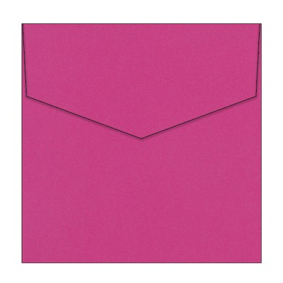 Bloom 150x150 iflap Envelope 90gsm Shocking Pink
