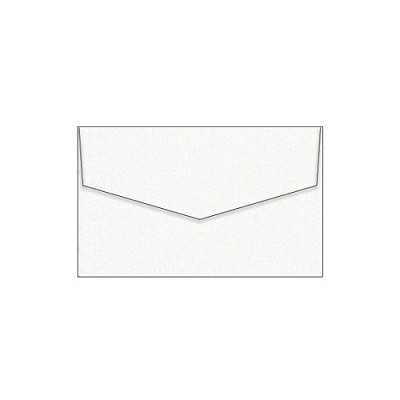 Curious Metallic 80x130 iflap Envelope 120gsm White Gold