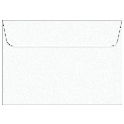 Glamour Puss C5 Wallet Flap Envelope 120gsm Diamond White Pack 99 (***SECONDS***)