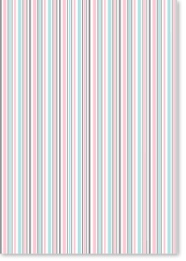 Designer Recycled A4 Paper 120gsm Humbug Stripe Candy