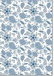 Designer Metallic A4 Paper 118gsm Claire Blue On Milk Bath