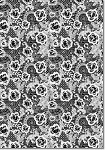 Designer Metallic A4 Paper 120gsm French Lace Midnight
