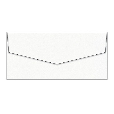 Curious Metallic DL iflap Envelope 120gsm Ice Gold
