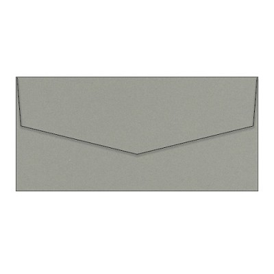 Eco Luxury DL iflap Envelope 120gsm Iron Bark