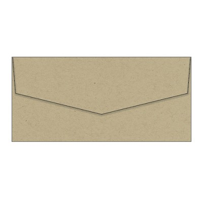 Eco Luxury DL iflap Envelope 104gsm Sandstorm