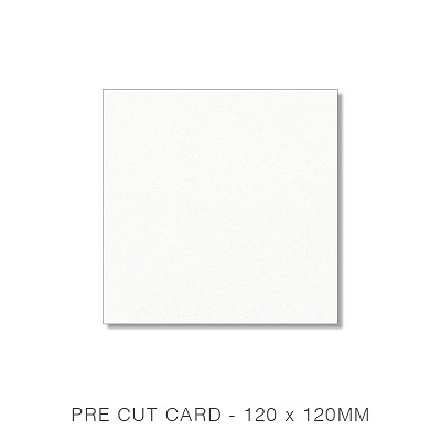 Curious Metallic 120x120 Pre Cut Card Pack 50 250gsm Ice Gold