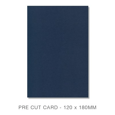Eco Grande 120x180 Pre Cut Card Pack 50 256gsm Navy
