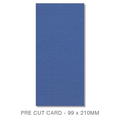 Zsa Zsa 99x210 Pre Cut Card Pack 50 198gsm Blueberry