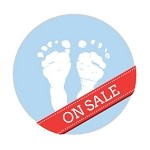 Ipaper Colour Seal Baby Feet Powder Blue