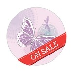 Ipaper Colour Seal Butterfly Pink