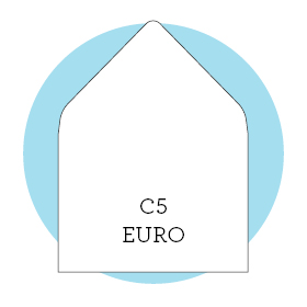 Envelope liner template C5