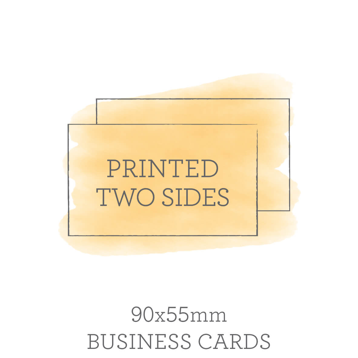 Double sided business cards 90x55mm double sided business cards reheart Choice Image