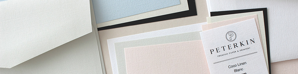 Coco Linen paper and card