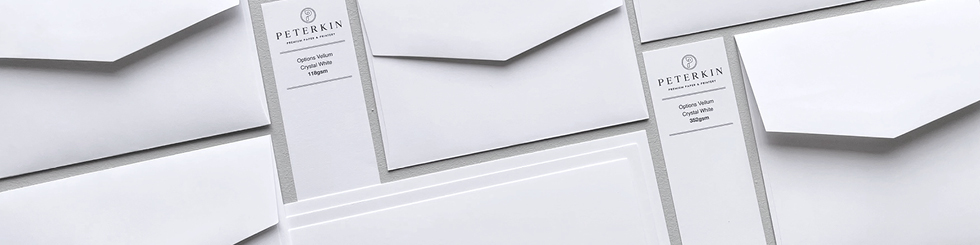 Options Vellum card and paper