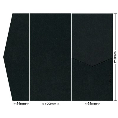 Bloom 100x210 Pocket Style A 300gsm Ebony