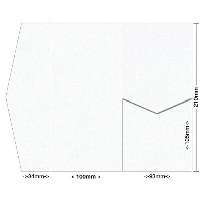 Glamour Puss 100x210 Pocket Style A 250gsm Diamond White