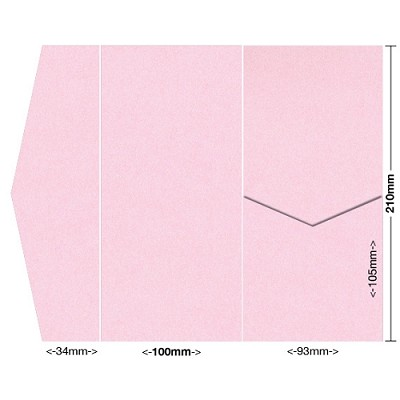 Glamour Puss 100x210 Pocket Style A 250gsm Fairy Pink