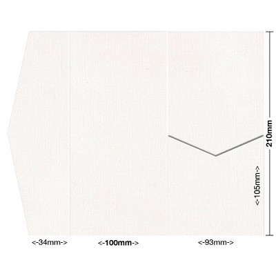 Coco Linen 100x210 Pocket Style A 170gsm Ivoire