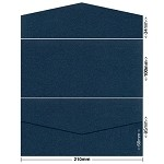 Glamour Puss 100x210 Pocket Style B 250gsm Blue Moon