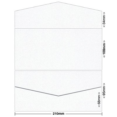 Glamour Puss 100x210 Pocket Style B 250gsm Diamond White