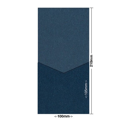 Glamour Puss 100x210 Pocket Style D 250gsm Blue Moon