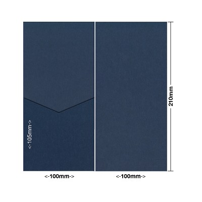 Eco Grande 100x210 Pocket Style E 308gsm Navy