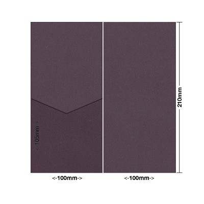 Eco Grande 100x210 Pocket Style E 308gsm Mulberry