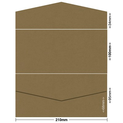 Gmund Colors 100x210 Pocket Style B 300gsm Walnut-06