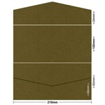 Gmund Colors 100x210 Pocket Style B 300gsm Army-88