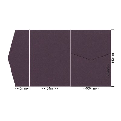 Eco Grande 104x152 Pocket Style A 308gsm Mulberry