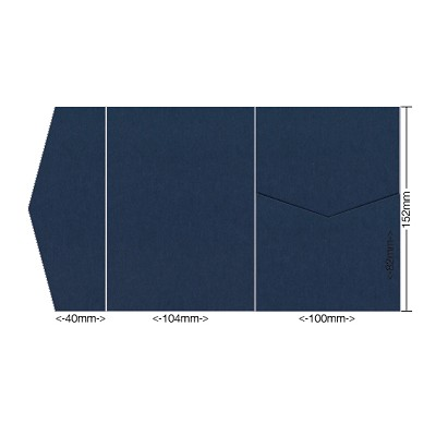 Eco Grande 104x152 Pocket Style A 308gsm Navy