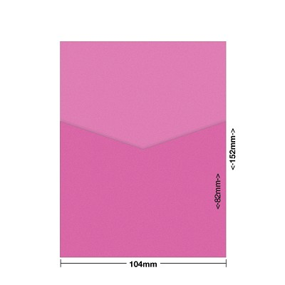 Gmund Colors 104x152 Pocket Style D 300gsm Fuschia-36