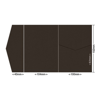 Gmund Colors 104x152 Pocket Style A 300gsm Chocolate-37