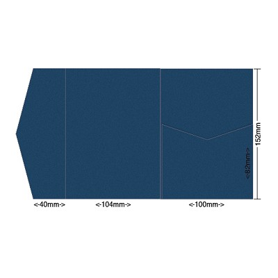 Gmund Colors 104x152 Pocket Style A 300gsm Midnight Blue-59