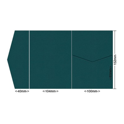 Gmund Colors 104x152 Pocket Style A 300gsm Sea Green-91