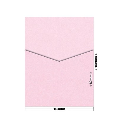 Glamour Puss 104x152 Pocket Style D 250gsm Fairy Pink