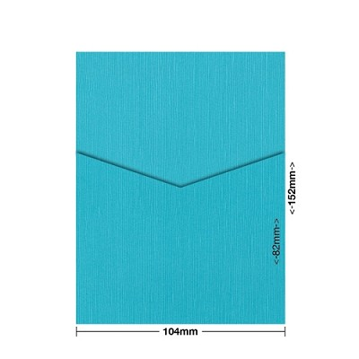 Zsa Zsa 104x152 Pocket Style D 198gsm Tiffany