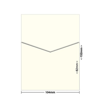 Marshmallow 104x152 Pocket Style D 261gsm Warm Ivory