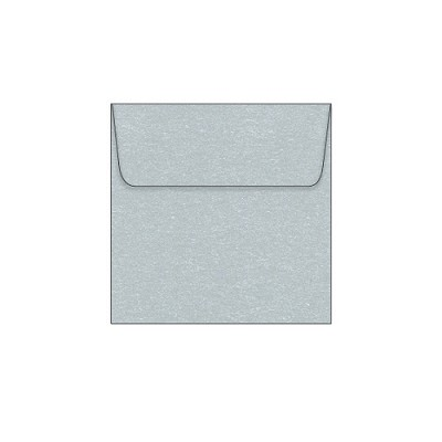 Glamour Puss 105x105 Wallet Flap Envelope 120gsm Princess Silver