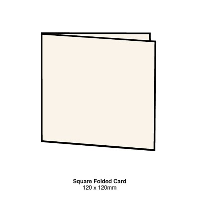 Gmund Colors 120x120 Folded Card 300gsm Almond-84