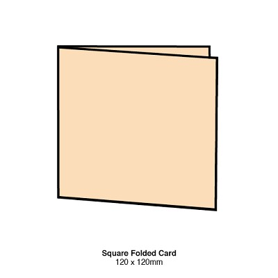 Gmund Colors 120x120 Folded Card 300gsm Wheat-27