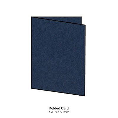 Eco Grande 120x180 Folded Card 308gsm Navy