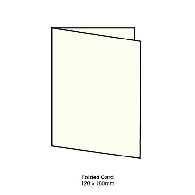 Gmund Colors 120x180 Folded Card 350gsm Ivory-49
