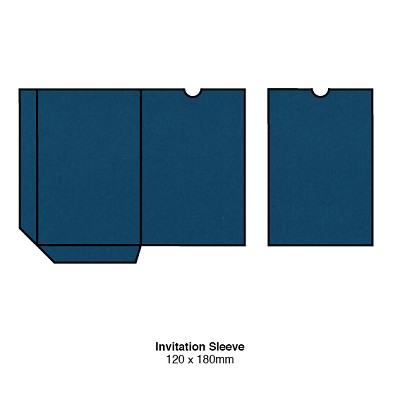 Bloom 120x180 Sleeve 270gsm China Blue